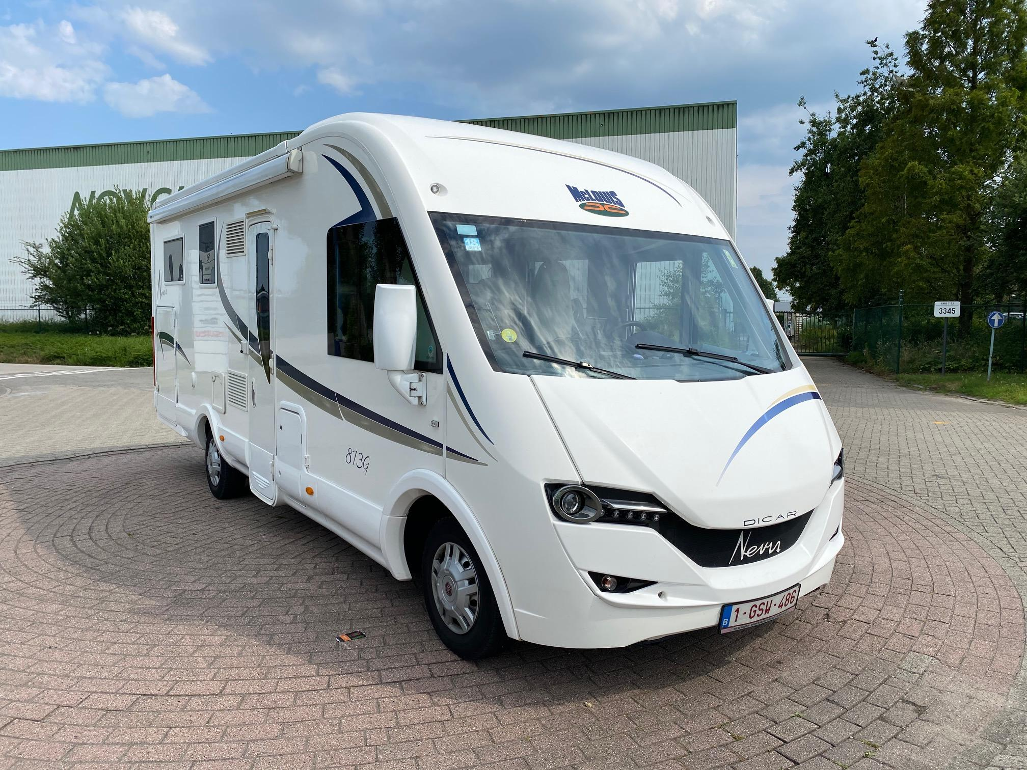 Hulpluchtvering voor Mc Louis integraal camper | Trapmann Air Suspension