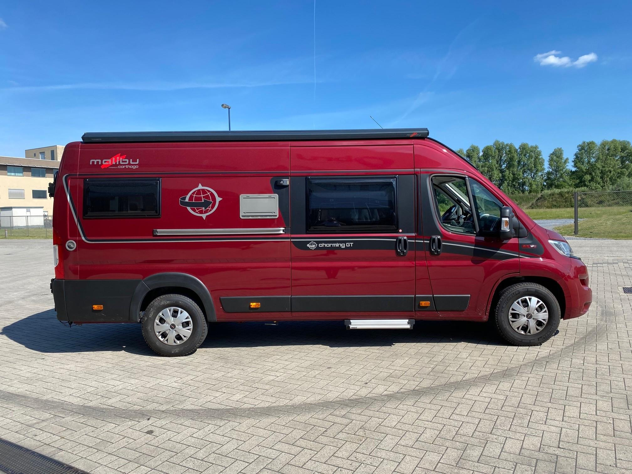 Luchtverinv voor Carthago Malibu camper | Trapmann Air Suspension