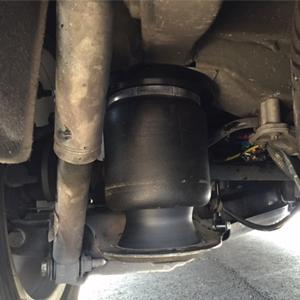 Trapmann air Suspension luchtvering voor Nissan Navara