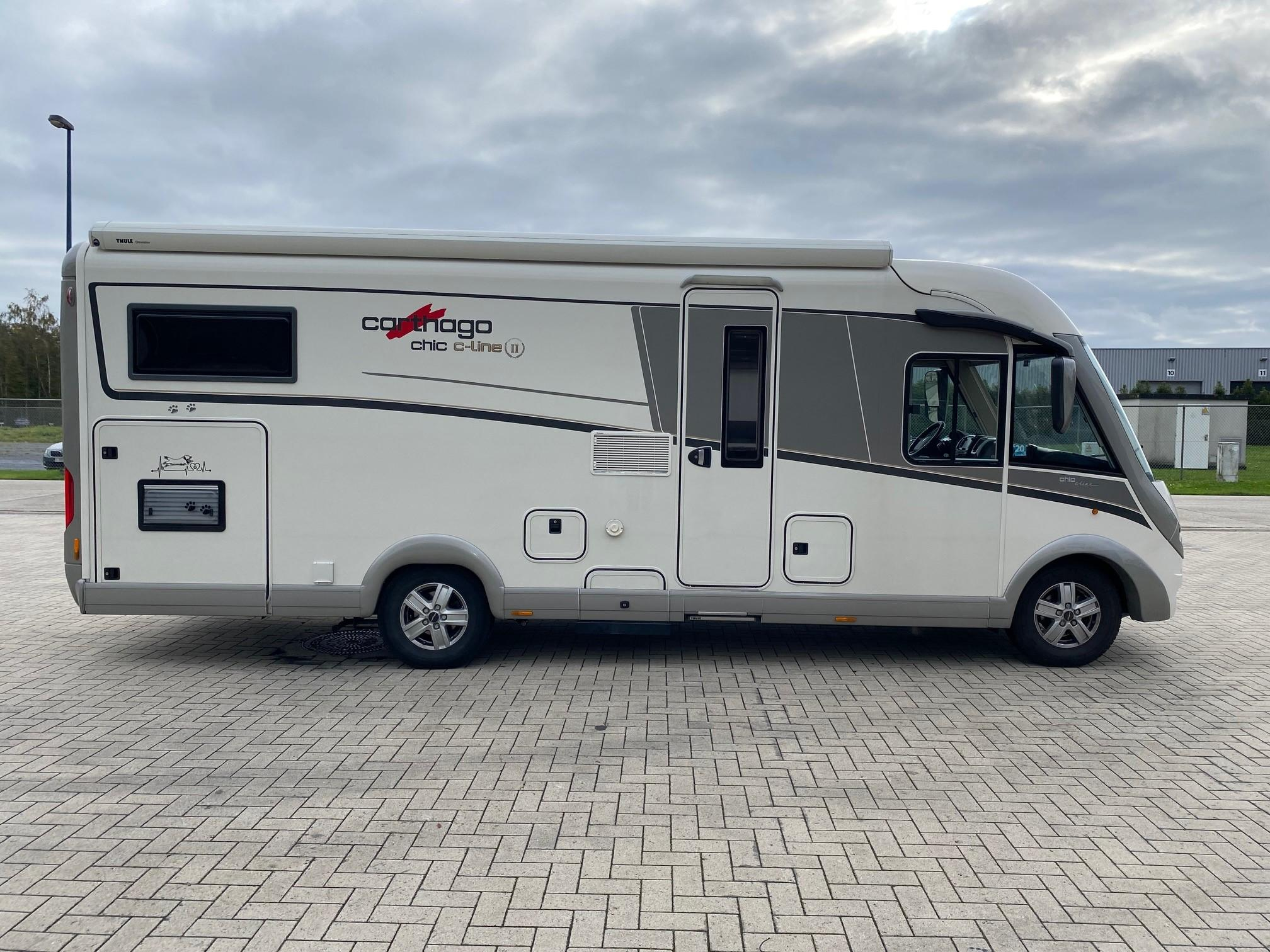 Luchtvering Carthago Inegraalcamper Chic C-Line | Trapmann Air Suspension