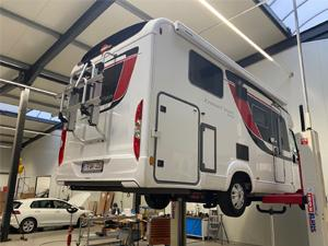 Inbouw luchtvering op travel camper | Trapmann Air Suspension