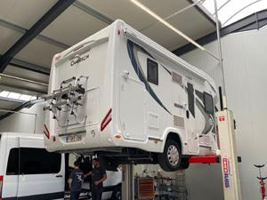 VB-SemiAir voor Mobilhome Chausson | Trapmann Air Suspension