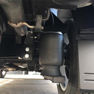 Luchtvering van Trapmann Air Suspension op Ford Ranger