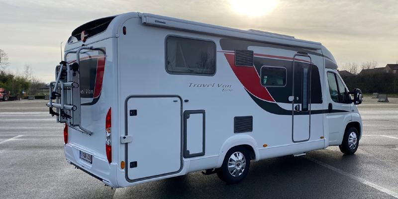 Luchtvering Burstner 4020 camper van | Trapmann Air Suspension