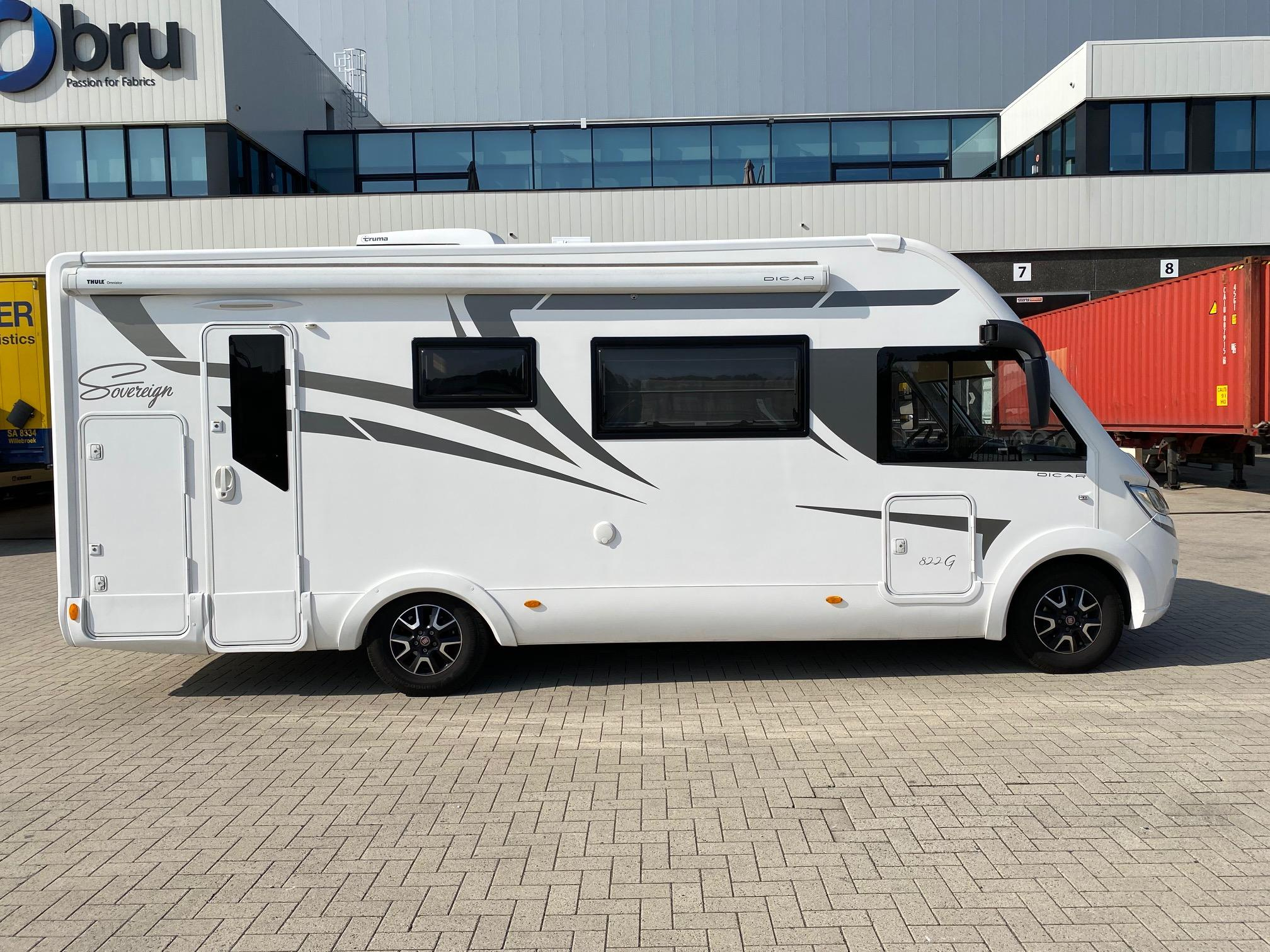 Luchtvering Mc Louis camper van Dicar | Trapmann Air Suspension