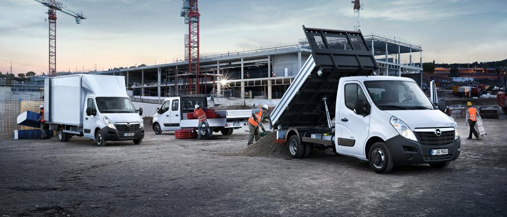 Luchtvering voor Opel Movano | Trapmann Air Suspension