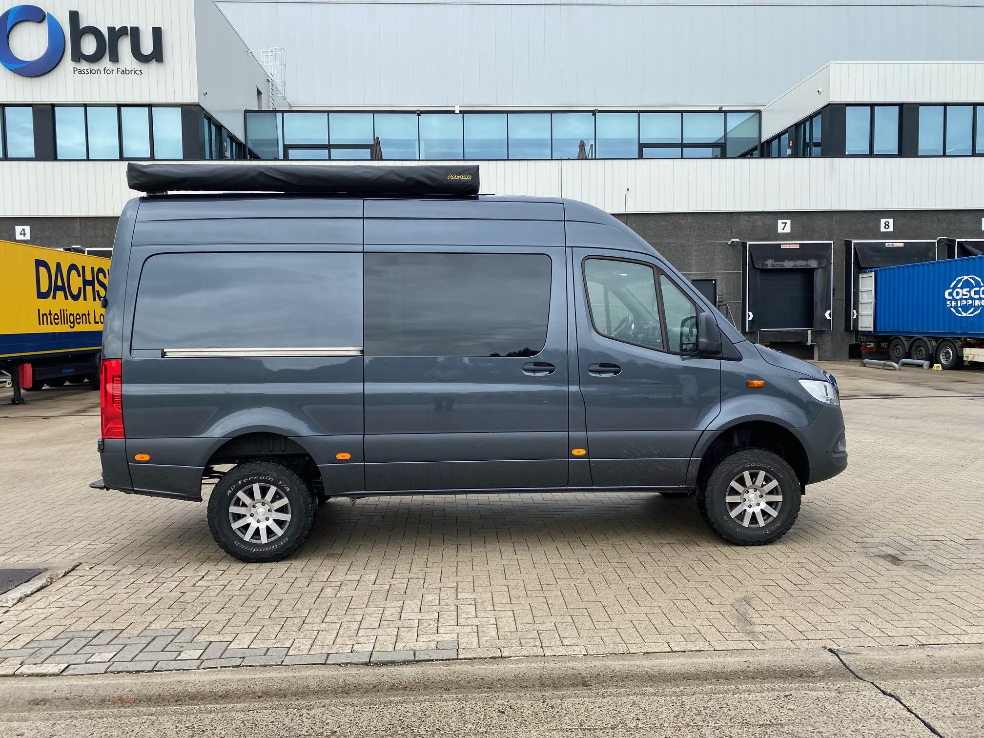 Hulpluchtvering Mercedes Sprinter campervan | Trapmann Air Suspension