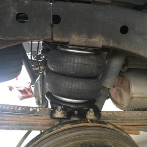 Hulpluchtvering Trapmann Air Suspension voor Ford Ranger