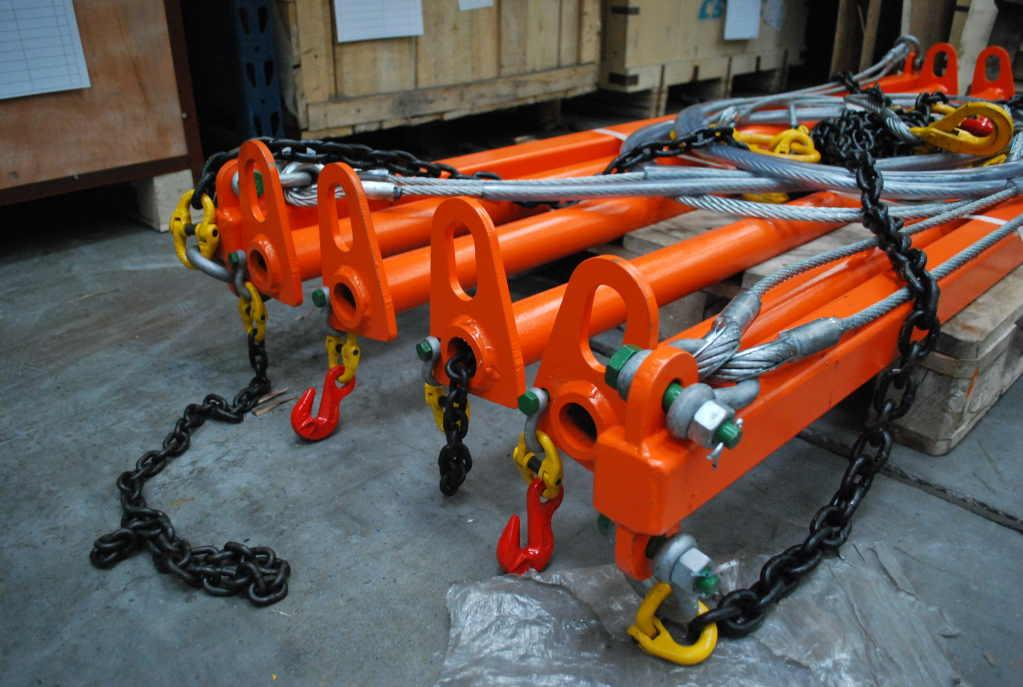 MK-81 CAR DOUBLE BEAM LIFTING GEAR SWL 3t