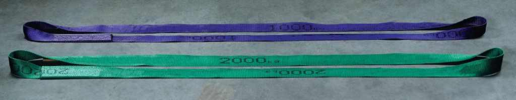 ENDLESS POLYESTER FLAT WEBBING SLINGS