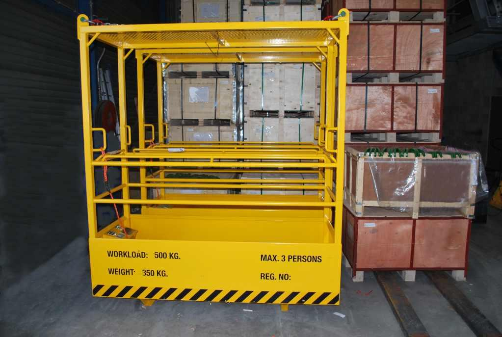 MK-124/3P BASKET FOR LIFTING 3 PERSONS
